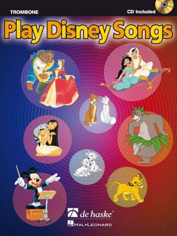 Play Disney Songs: Trombone Bass Clef: Book & Cd
