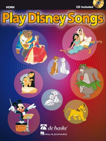 Play Disney Songs: French Horn: Book & Cd