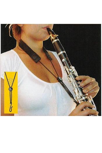 BG C90E Clarinet Strap: Elasticated  With Foam