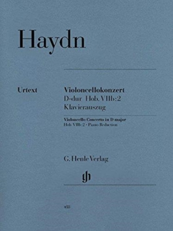 Concerto For Violoncello And Orchestra D Major (Henle)