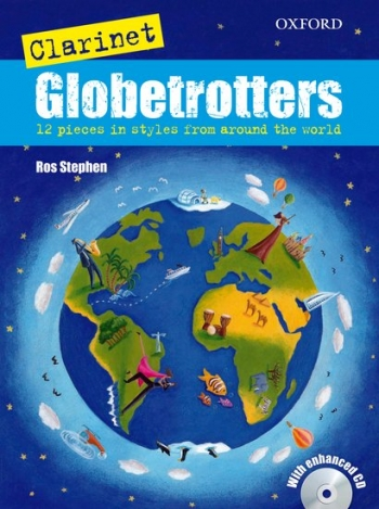 Clarinet Globetrotters: Book & Cd: Bb Clarinet