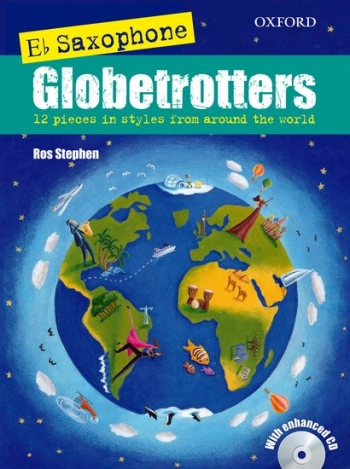 Eb Saxophone Globetrotters: Book & Cd: Alto Sax