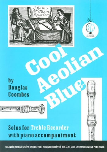 Cool Aeolian Blue: Treble Recorder & Piano