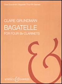 Bagatelles: 4 Bb Clarinets (Score & Parts)