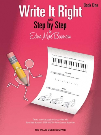 Step By Step Write It Right By Edna Mae Burnam Book One