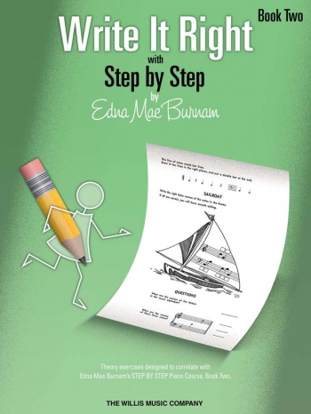 Step By Step Write It Right By Edna Mae Burnam Book Two