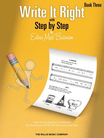 Step By Step Write It Right By Edna Mae Burnam Book Three