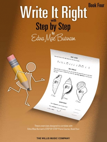 Step By Step Write It Right By Edna Mae Burnam Book Four