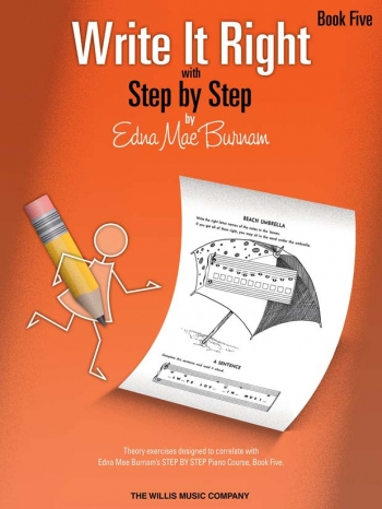 Step By Step Write It Right By Edna Mae Burnam Book Five