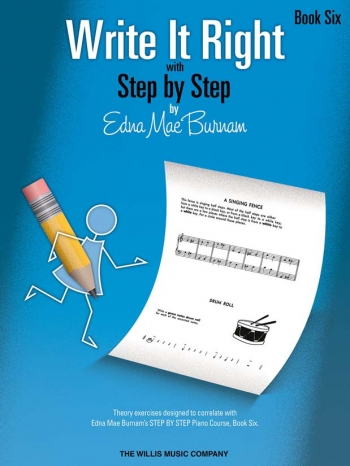 Step By Step Write It Right By Edna Mae Burnam Book Six