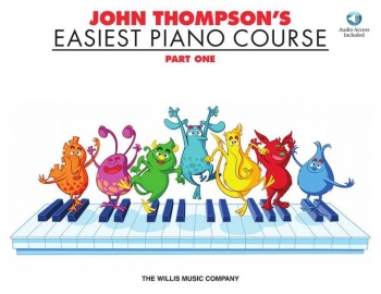 John Thompson's Easiest Piano Course Part 1 Book & Audio Online