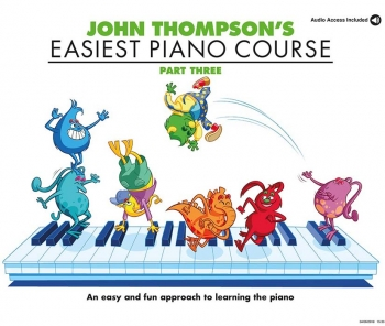 John Thompson's Easiest Piano Course: Part 3 Book & CD