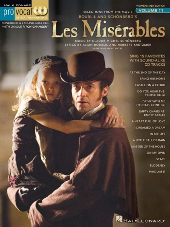 Pro Vocal Women/Men Edition Volume 11: Les Misérables: Melody Line & Chords: Book & Cd