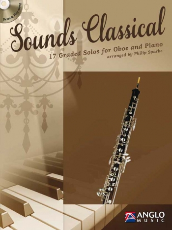 Sounds Classical: Oboe & Piano Book & CD (Sparke)  (Anglo Music)