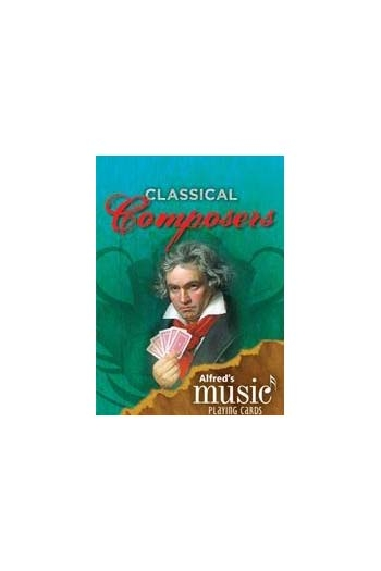 Alfreds Music Playing Cards: Classical Composers