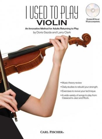 I Used To Play Violin: Adult Method Book & Cd