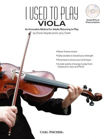 I Used To Play Viola: Adult Method Book & Cd