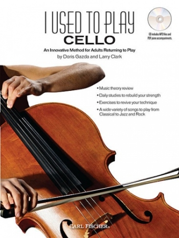 I Used To Play Cello: Adult Method Book & Cd