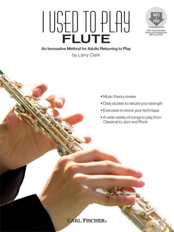 I Used To Play Flute: Adult Method Book & Cd