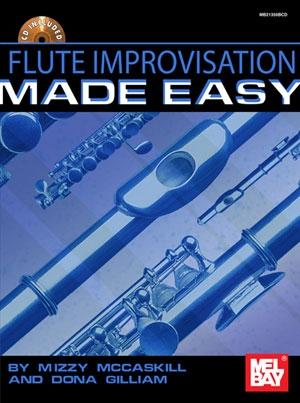 Flute Improvisation Made Easy: Flute: Book & CD