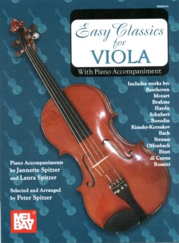 Easy Classics: Viola & Piano