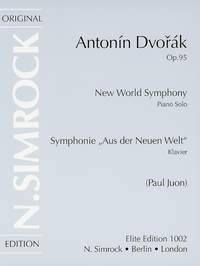 Symphony No. 9 In E Minor: Op. 95: New World Symphony: Piano