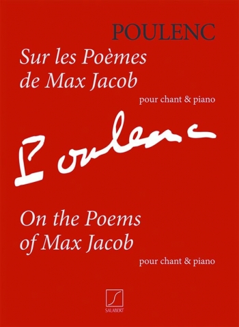 On The Poems Of Max Jacob: Solo Voice & Piano