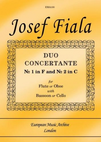 Duo Concertante: Flute Or Oboe With Bassoon Or Cello