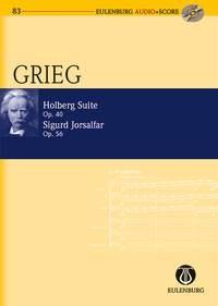Holberg Suite: Op40: Miniature Score