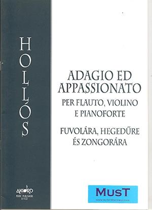 Adagio & Appassionato: Trio: Flute Violin & Piano