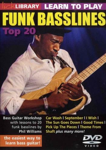 Lick Library: Learn To Play Funk Basslines: Top 20: DVD