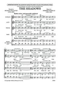 The Shadows: Vocal SATB