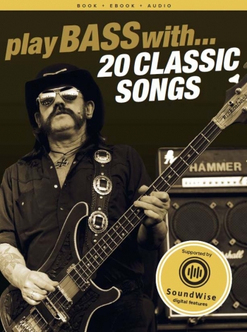 Play Bass With: 20 Classic Songs: Bass: Book & Audio