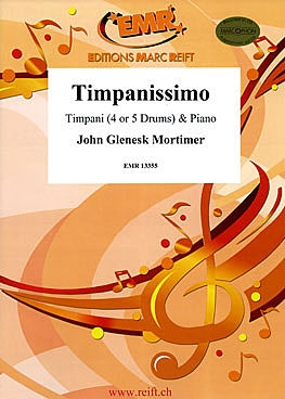 Timpanissimo: 4 Or 5 Drums & Piano Sc&pts