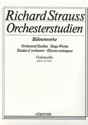 Orchestral Studies & Stage Works: Vol.2: Cello (Boosey & Hawkes)