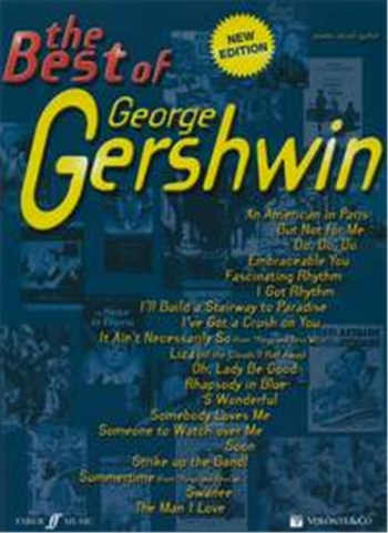 The Best Of George Gershwin: Piano Vocal Guitar