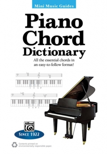 Alfred Mini Music Guides: Piano Chord Dictionary