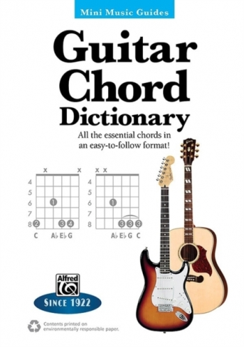 Alfred Mini Music Guides: Guitar Chord Dictionary