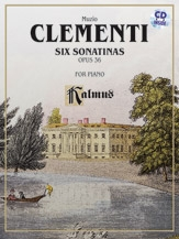 6 Sonatinas Op 36: Book & CD (Kalmus)