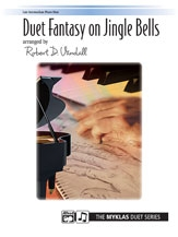 Duet Fantasy On Jingle Bells: Piano Duet