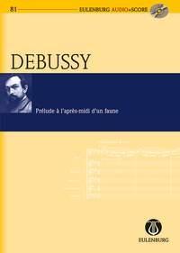 Prelude A Lapres-midi D Un Faune: Miniature Score & CD (Audio Series  No 81)