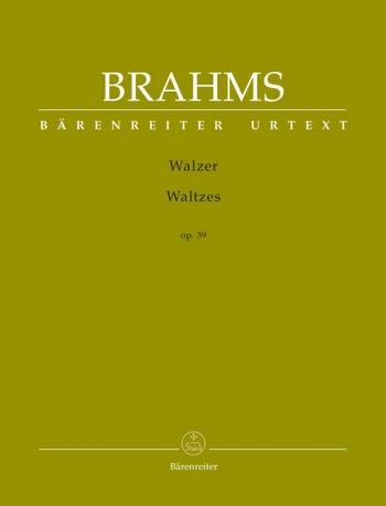 Waltzes Op.39 Piano Solo (Barenreiter)