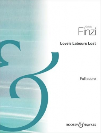 Loves Labours Lost: Full Score