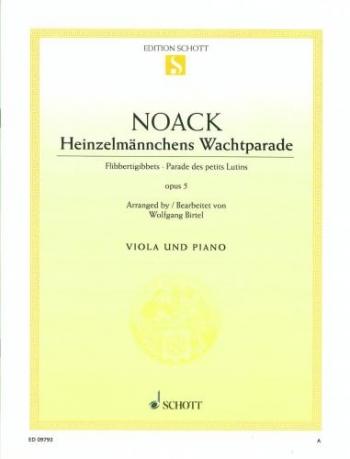 Fibbertigibbets: Parade Des Petites Lutins: Viola & Piano (Schott)