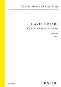 Edwin Morgan Sonnets: Vol. 3: Male Choir (Choral Music Of Our Time)