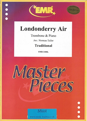 Londonderry Air: Treble And Bass Clef Trombone & Piano