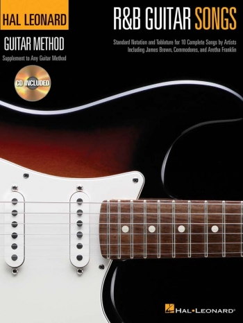 Hal Leonard Guitar Method: R&B Guitar Songs: Book And Cd