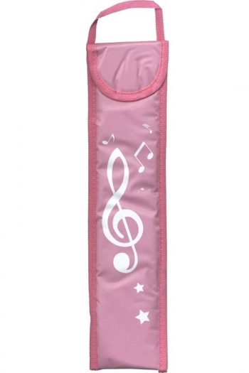 Musicwear Treble Clef Descant Recorder Bag - Pink