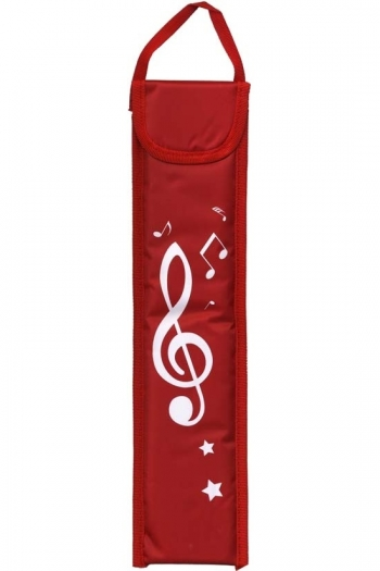 Musicwear Treble Clef Descant Recorder Bag - Red