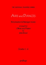 Airs And Dances, Arr. Blood Oboe & Piano